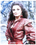 Kate O'Mara the Rani Signed 10 x 8 Photograph 10411